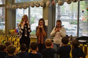 USAC students teaching english abroad