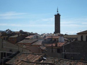 Viterbo Rooftop View