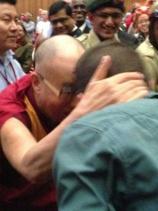 Boise State Student Christopher Bower Meets the Dalai Lama