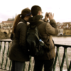 Two Students in Prague