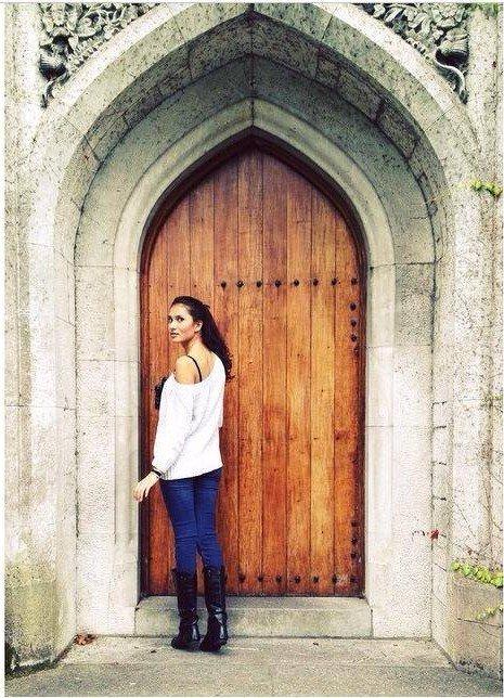 Cork doorway