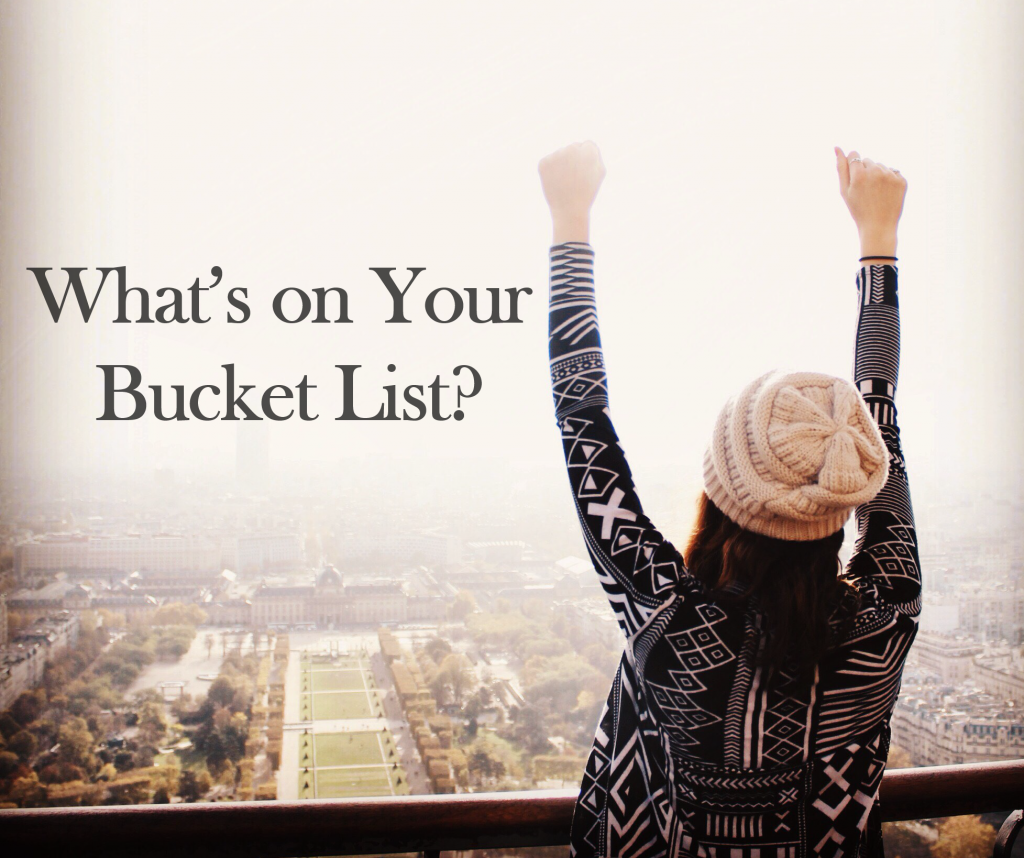 What's on Your Bucket List? Round 2 - USAC