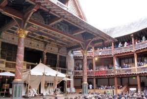 Shakespeare Globe Theatre London England