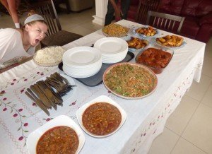 accra ghana cuisine workshop - Hallie Brown (University of New Mexico, Albuquerque)