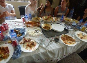 accra ghana cuisine workshop - aftermath
