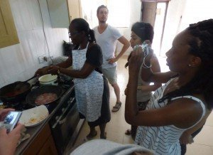accra ghana cuisine workshop - how to make chicken stew