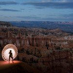 Bryce Canyon National Park, Utah travel photography LED hula hoop road trip