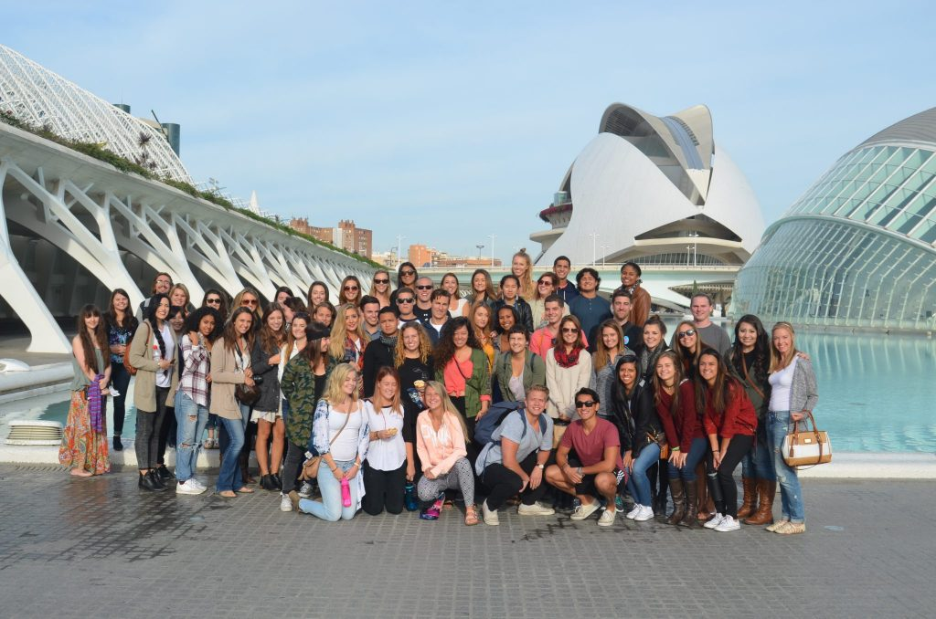 valencia spain group shot