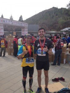Jinshanling Great Wall marathon Chengdu China