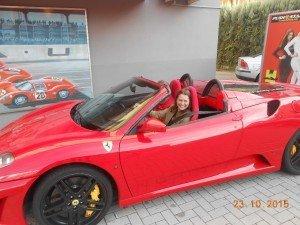 test drive ferrari museum factory Italy Reggio Emilia