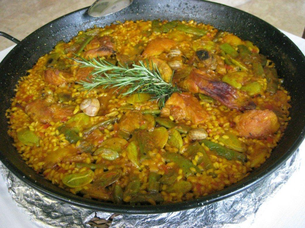 hunger munger seafood paella