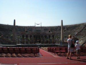 The Arena di Verona Italy opera