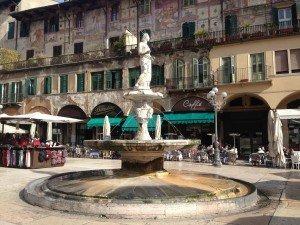 Piazza Erbe Verona Italy