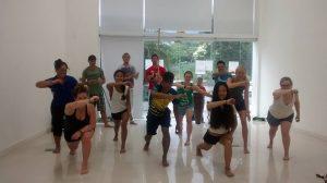 Capoeira class