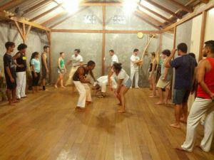 Capoeira with the community Morro do Quilombo, group Quilombo do Reconcavo Baiano (2)