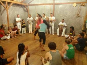 Capoeira with the community Morro do Quilombo, group Quilombo do Reconcavo Baiano (5)