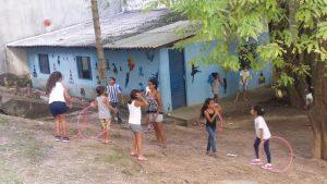 Volunteering at Vidal Ramos (1)