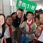 "Shanghai USAC Students ""Rock"" Volunteer Day"