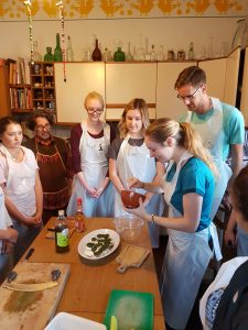 study abroad food cuisine class course USAC