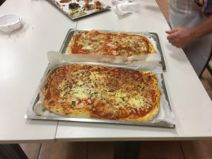 pizza cooking class food course international study abroad