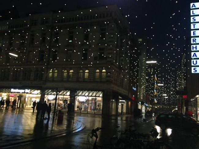 Christmas Market in Hamburg Germany