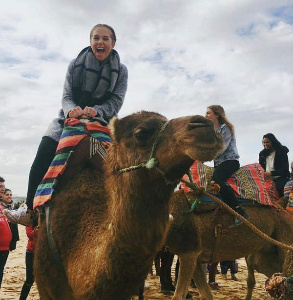 Student photo study abroad in Morocco