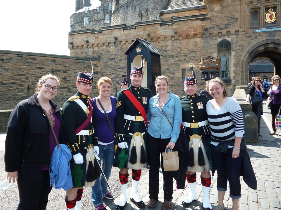 Students Studying Abroad in Scotland with USAC
