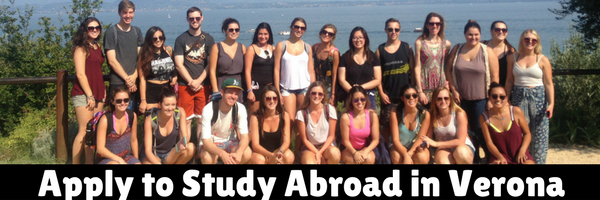 APPLY TODAY TO STUDY ABROAD IN VERONA, ITALY!
