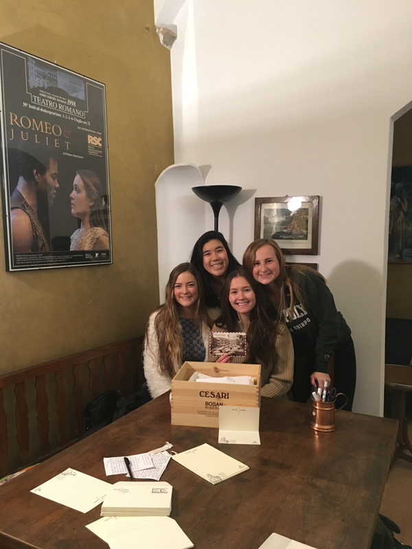 Juliet Club in Verona, Italy