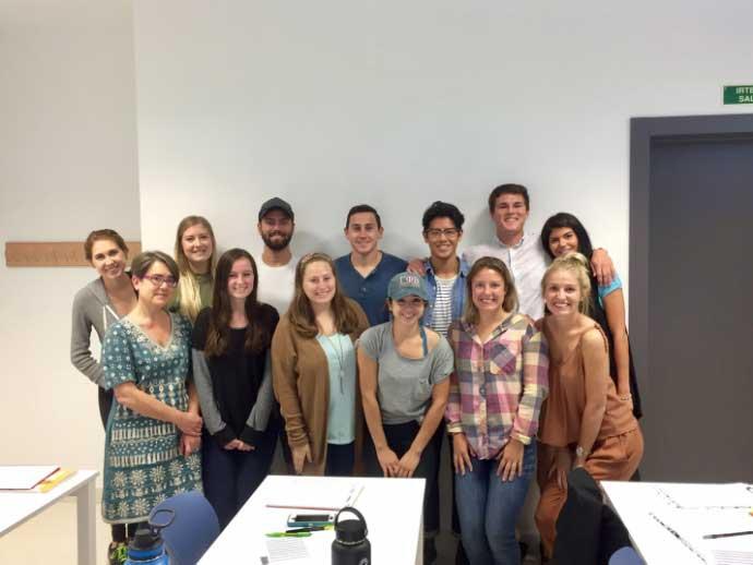 Class in San Sebastian