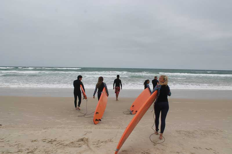 Earn college credit for surfing in Brazil