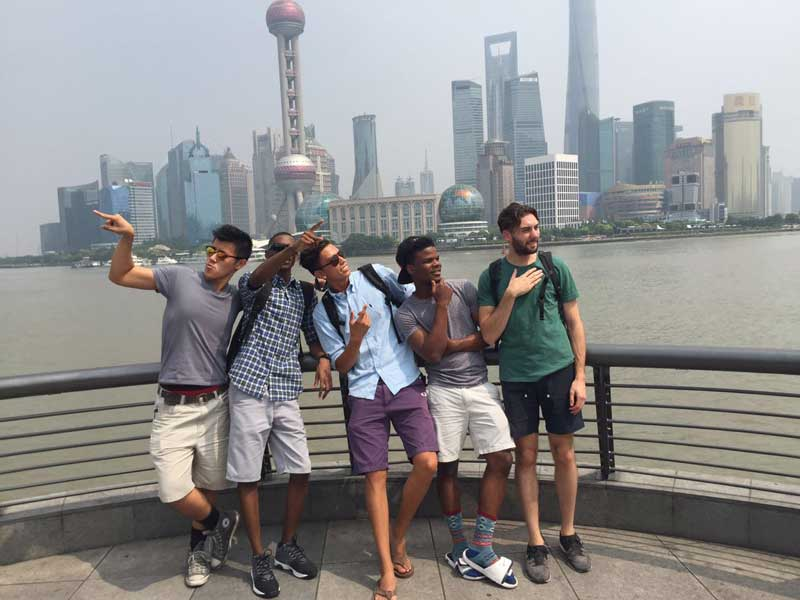 Study abroad in Shanghai