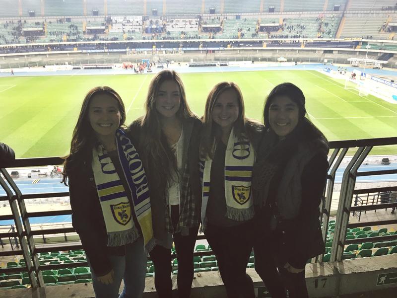 Soccer Game in Verona