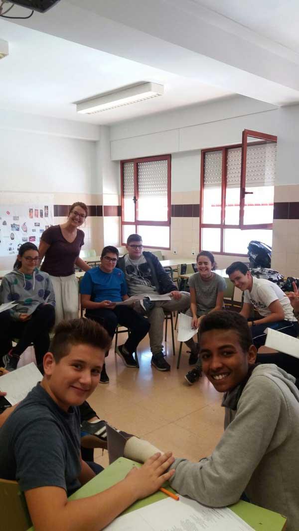 Allison Capps tutoring in Alicante