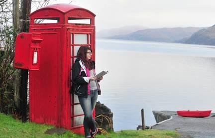 USAC field trip in Scotland