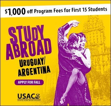 Apply for Uruguay/Argentina