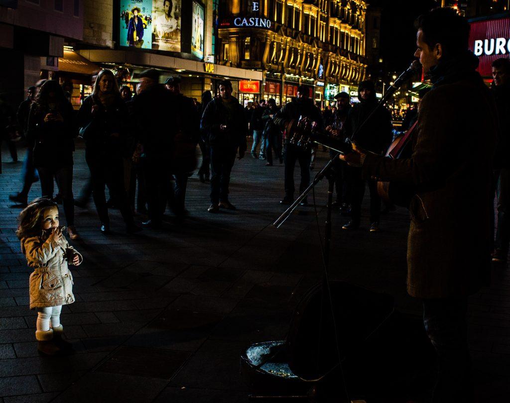 London, Street music, Study Abroad, USAC