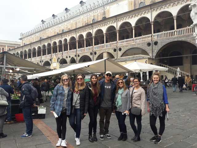 USAC Verona students visit Padova