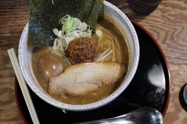 Traditional ramen dinner in Japan