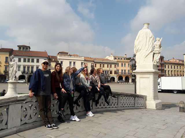 Visiting Padova through USAC Verona