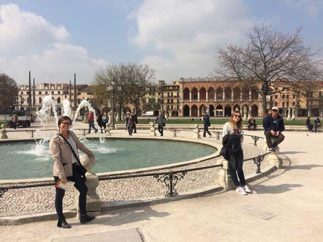 Piazze in Padua, Italy