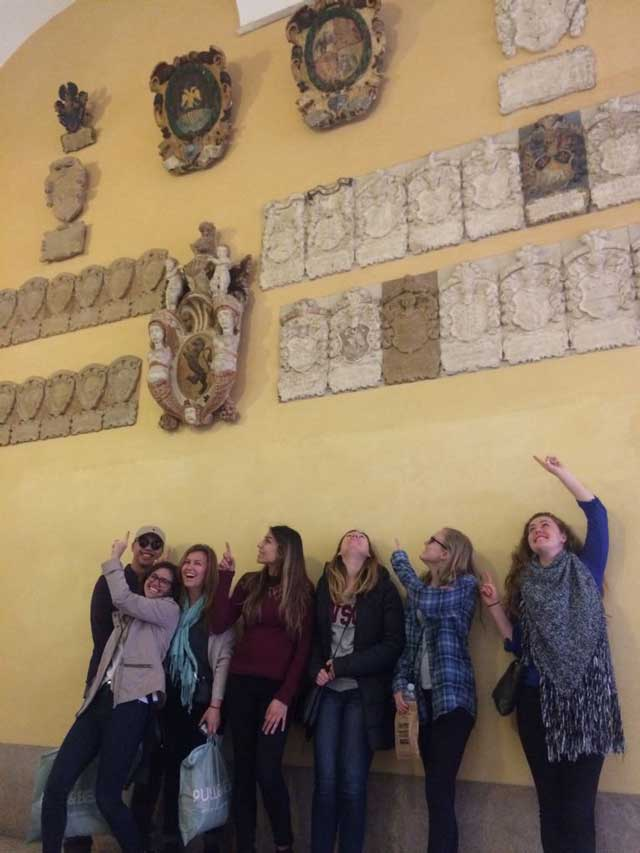 USAC Verona Students visiting Padua, Italy