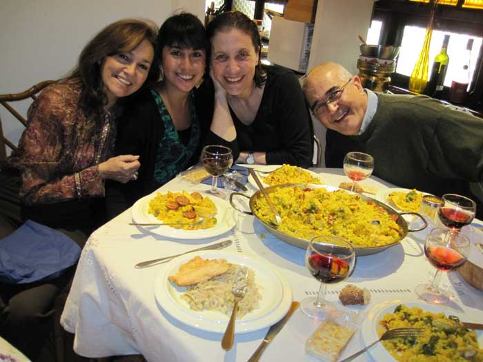 Homestay while study abroad in Madrid