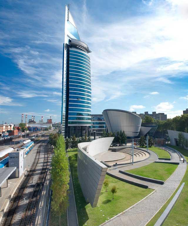 Modern Uruguay building
