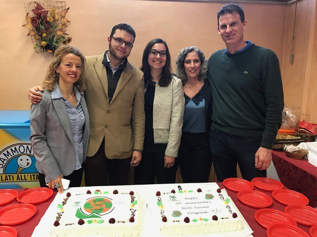 Torino staff celebrate 30 years of USAC in Torino