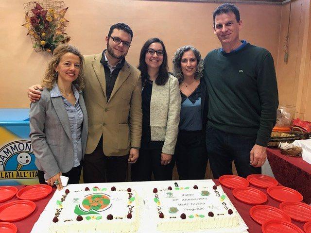 Torino staff celebrate 30 years of USAC in Torino