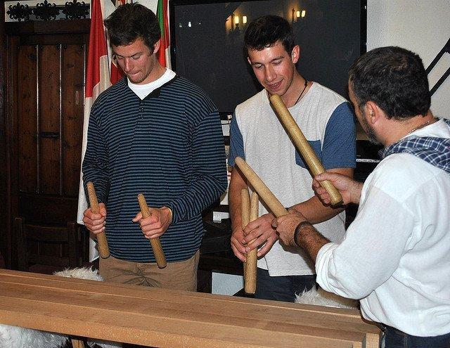 Basque music workshop