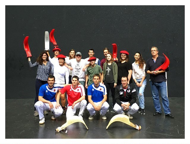 Learning the sport of jai-alai
