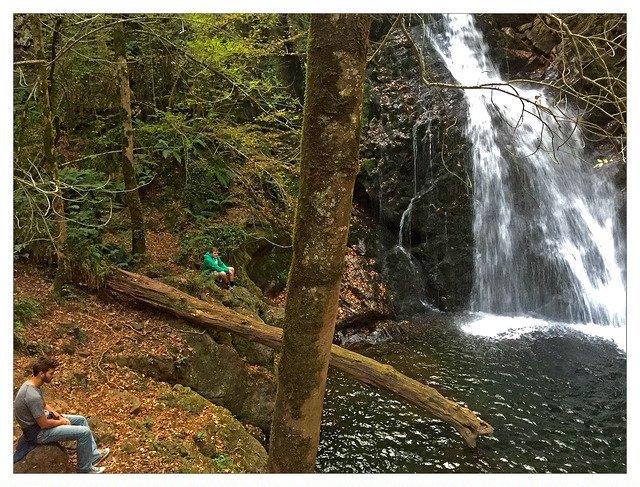 Waterfalls in Erratzu on USAC Basque Country Field Study
