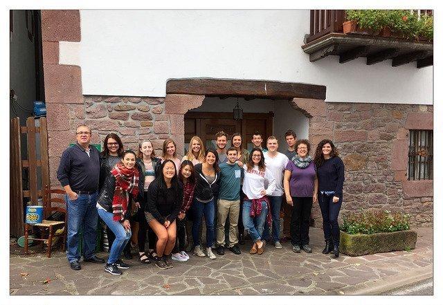 Group photo in Erratzu